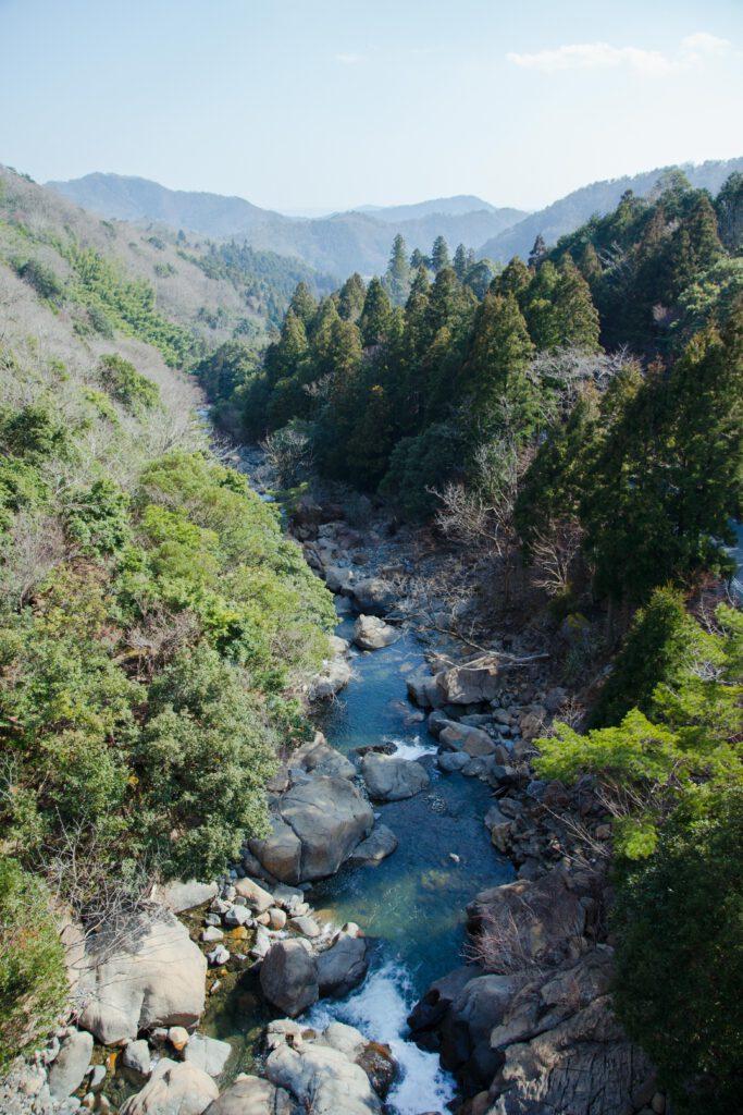 二瀬川渓流