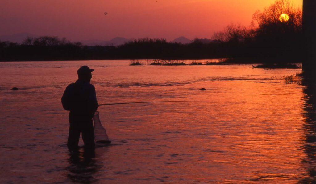 「由良川の夕ぐれ」