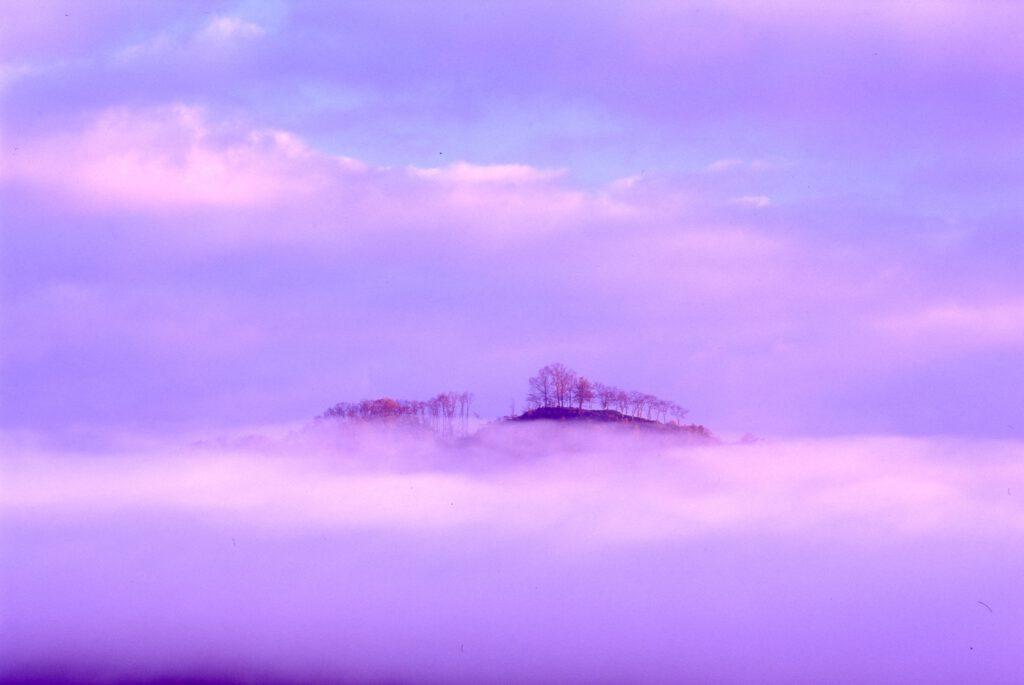 「雲海の高城山」
