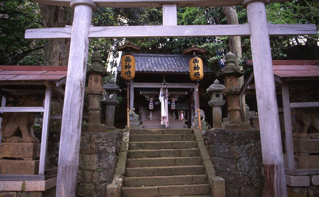 「新井崎神社」①