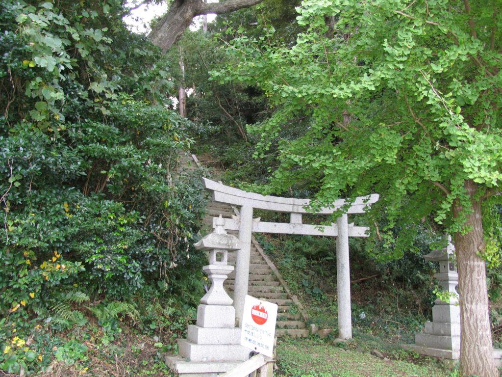 「蛭子神社鳥居」