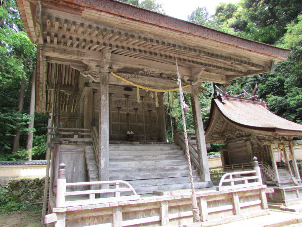「竹野神社」