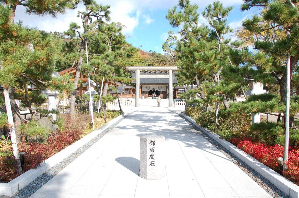 「元伊勢籠神社」②