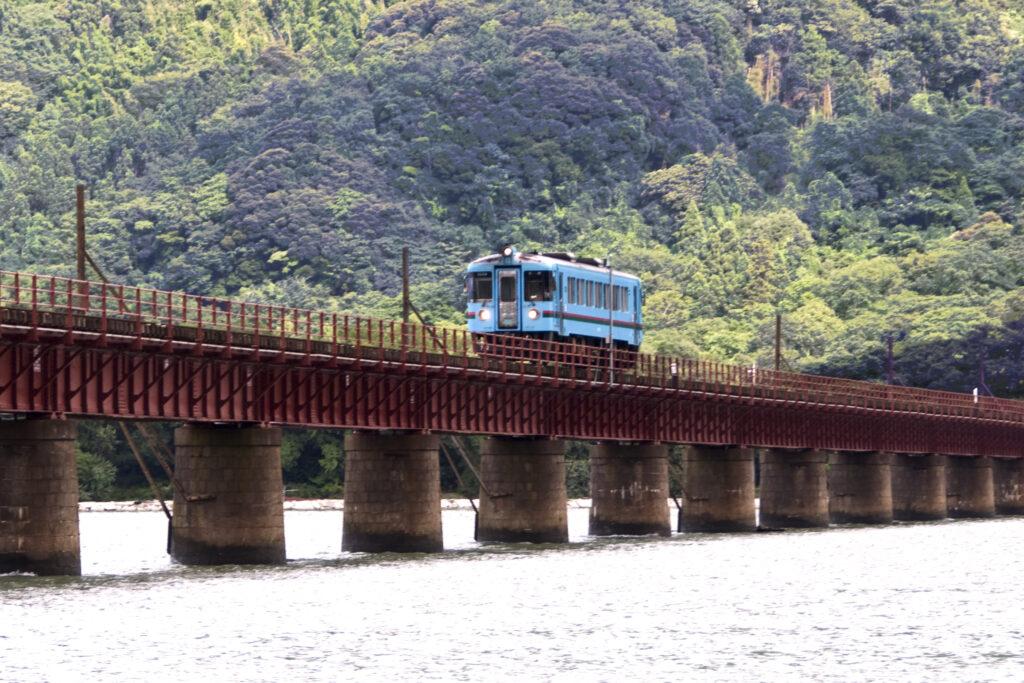 """Yura-gawa River Railway Bridge"""