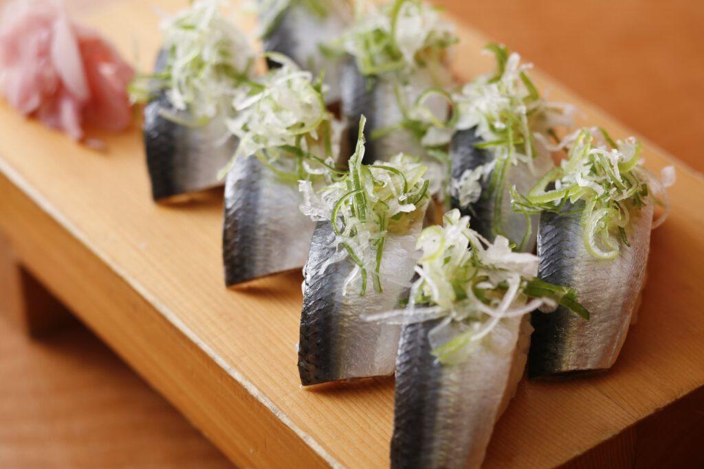 「いわし寿司」