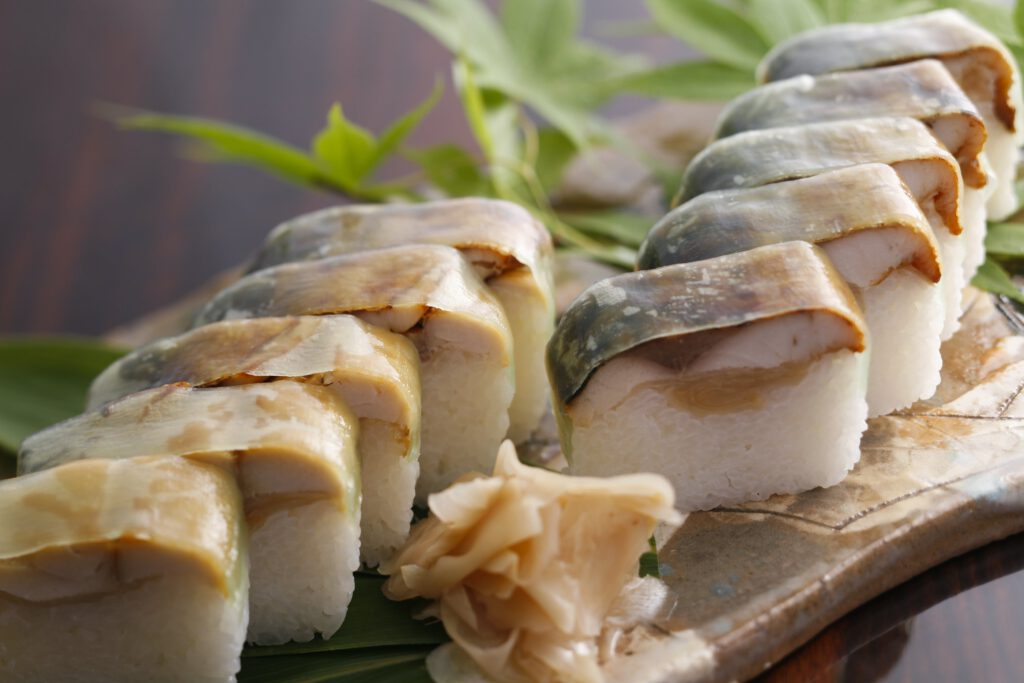 """""""Grilled mackerel sushi"""""""