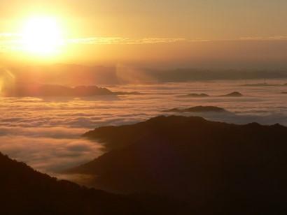 「大江山の雲海」