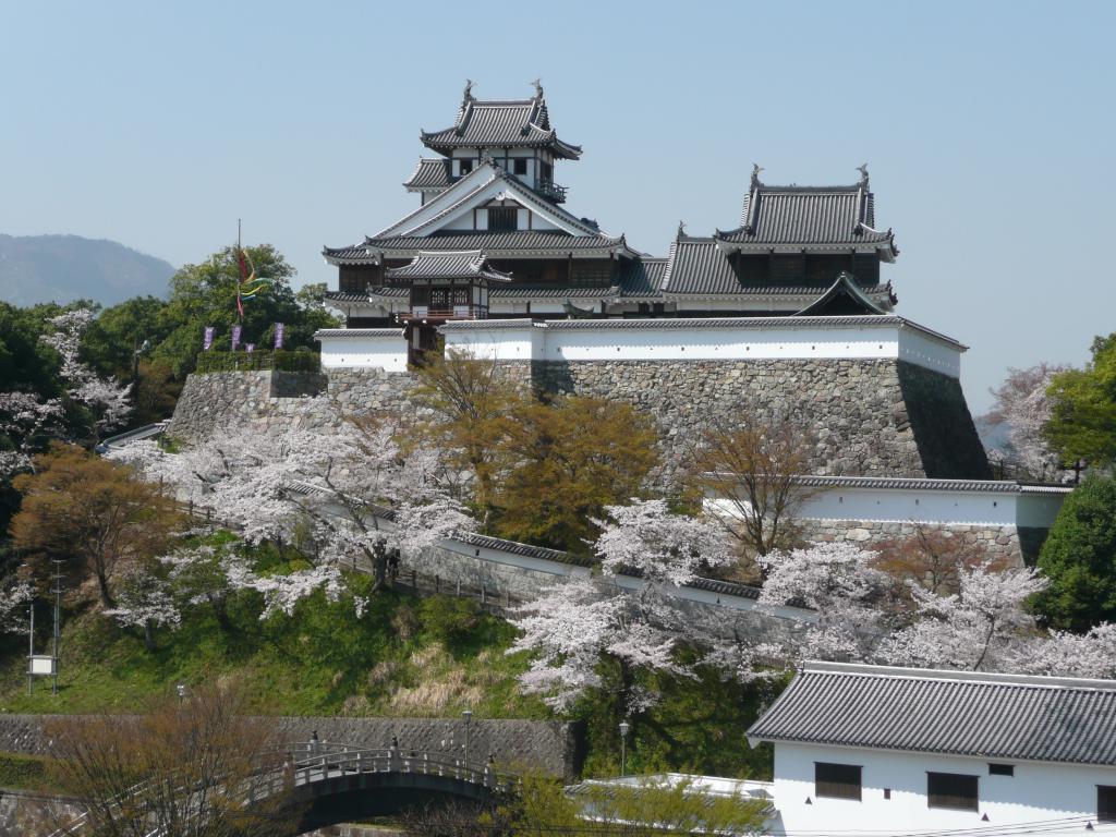 「福知山城」(春)