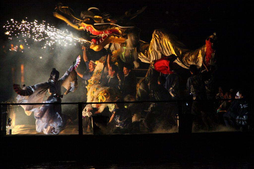 天橋立文殊堂「出船祭」