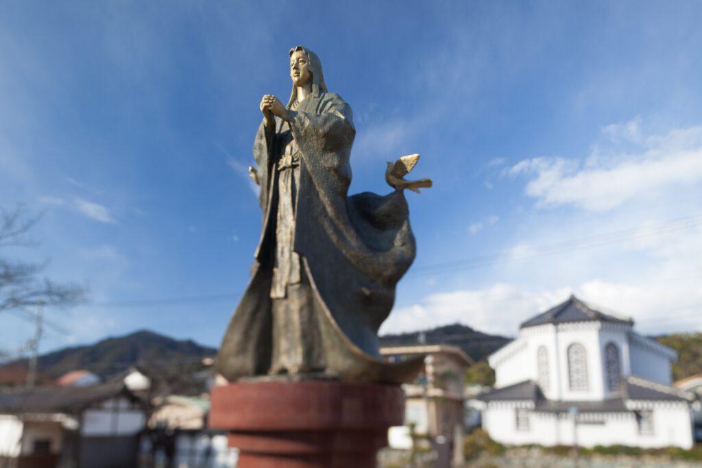 細川ガラシャ像