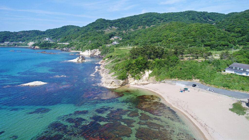砂方海水浴場(丹後)