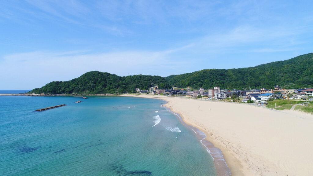 浜詰夕日ヶ浦海水浴場(網野)