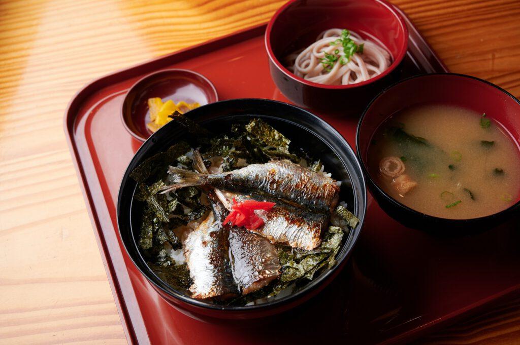 天橋立「金樽イワシ」丼