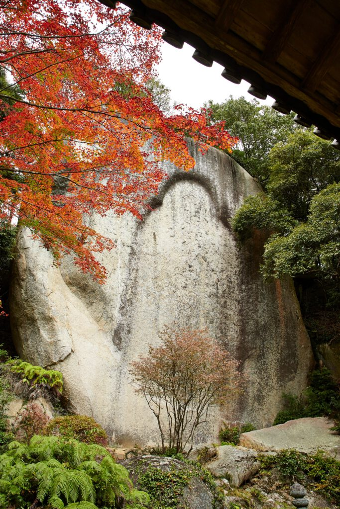 京都府立笠置山自然公園(もみじ公園):紅葉6 笠置寺