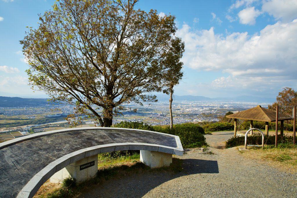 万灯呂山展望台:紅葉1