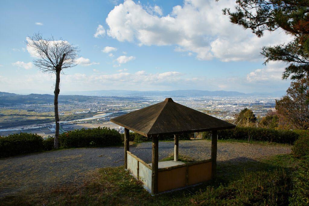 万灯呂山展望台:紅葉2