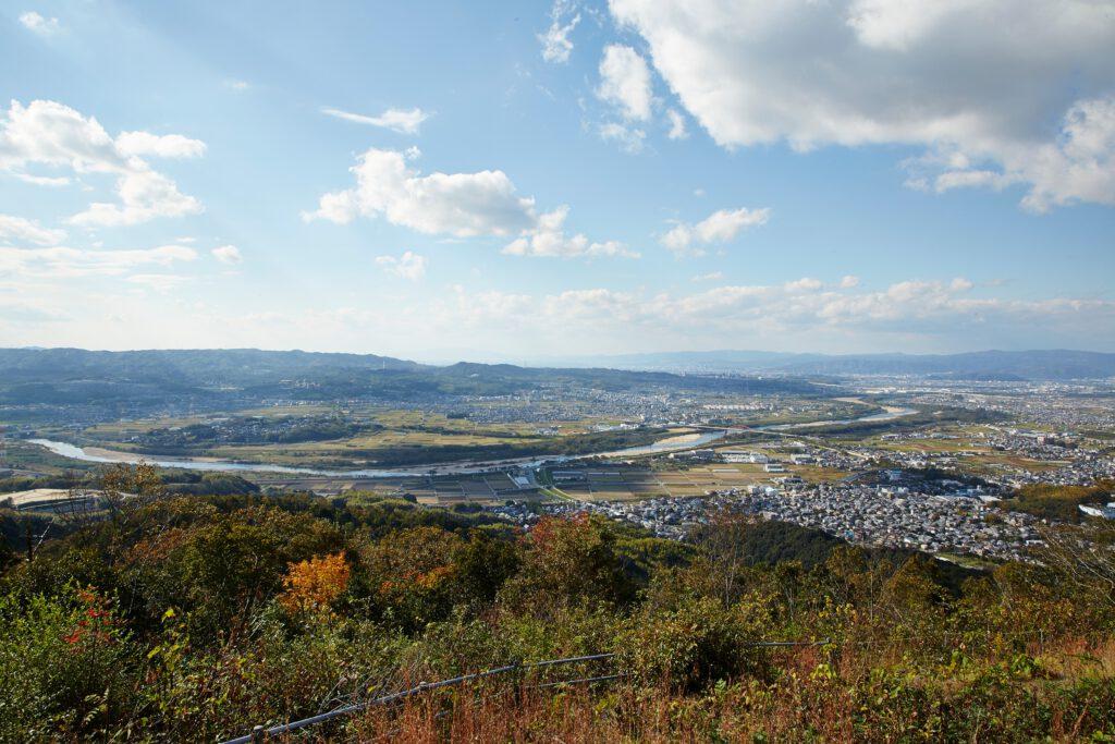 万灯呂山展望台:紅葉3