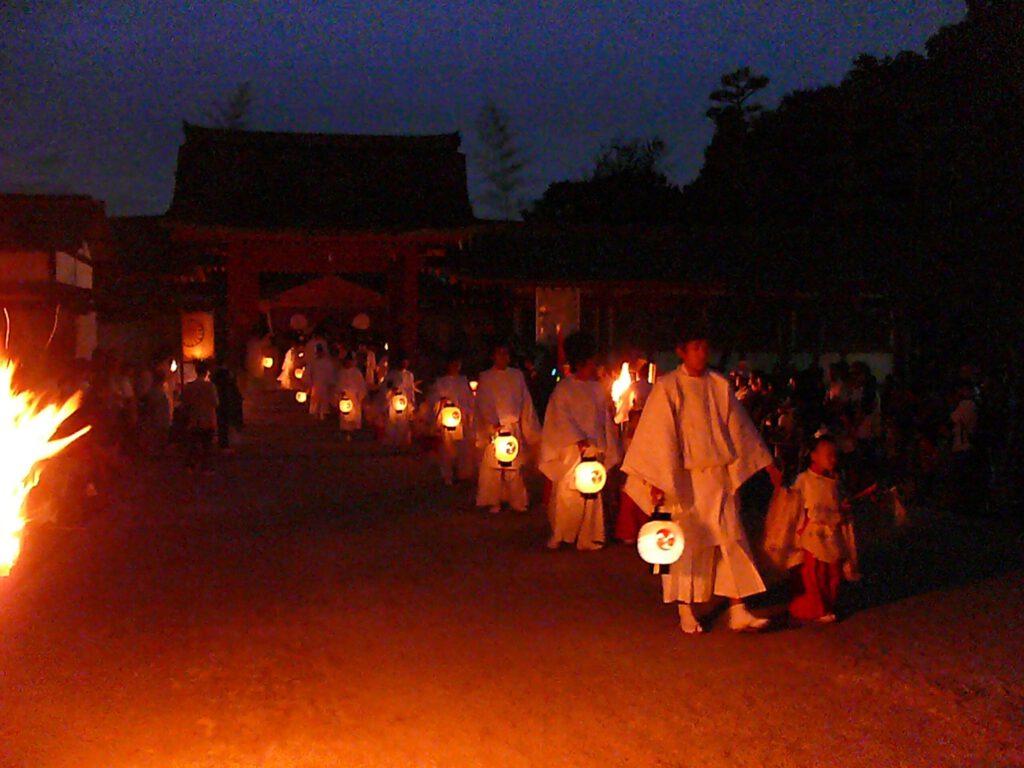 石清水八幡宮:石清水祭還幸の儀