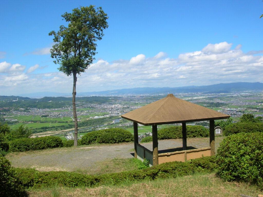京都府景観資産「万灯呂山展望台」