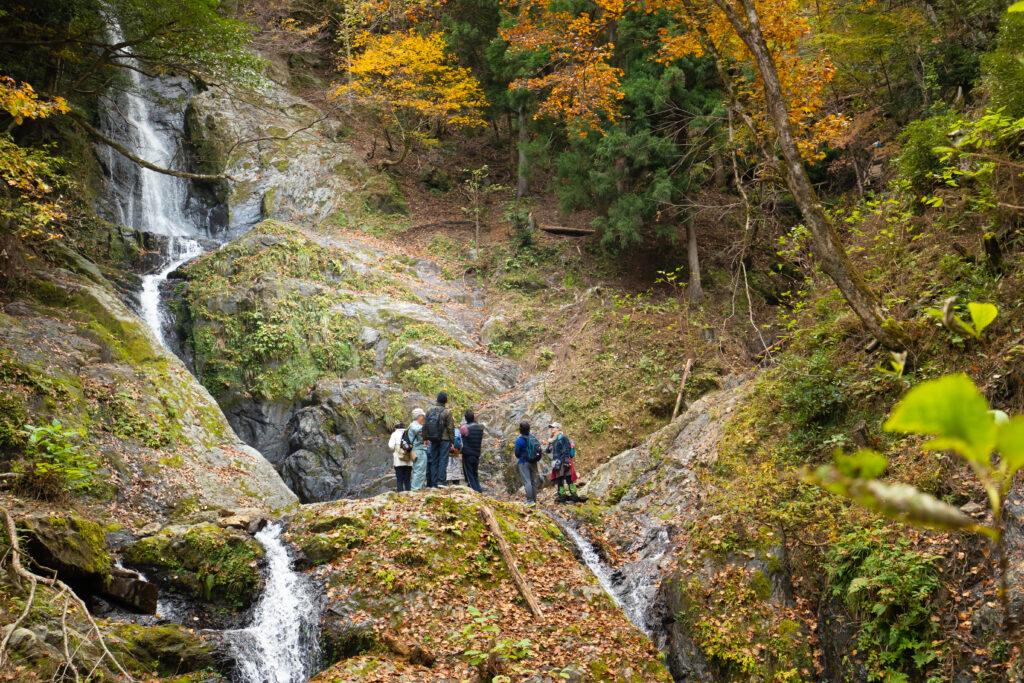 美山:洞の滝トレッキングツアー