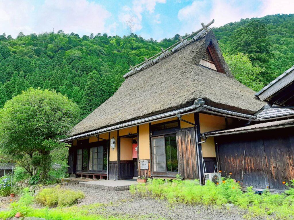 美山:民宿またべ