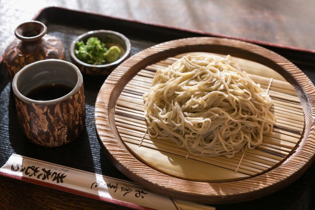 美山:美山産手打ち蕎麦